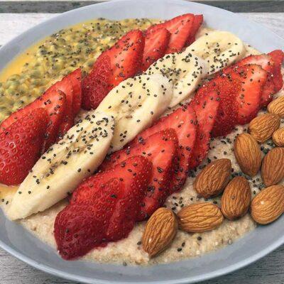 Opskrift: Vegansk smoothie bowl