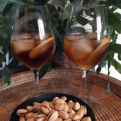 Opskrift: Vermouth & tonic
