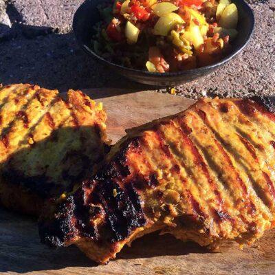 Opskrift: Indiske skaftkoteletter på grill