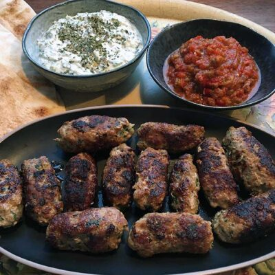 Opskrift: Cevapcici - kroatisk kebab