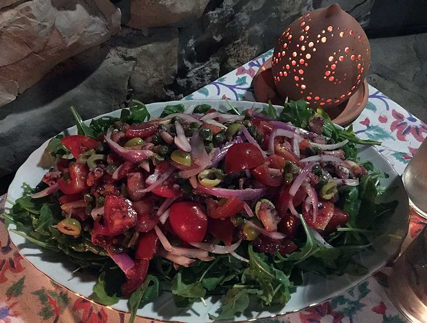 Opskrift: Blækspruttesalat fra Dalmatien