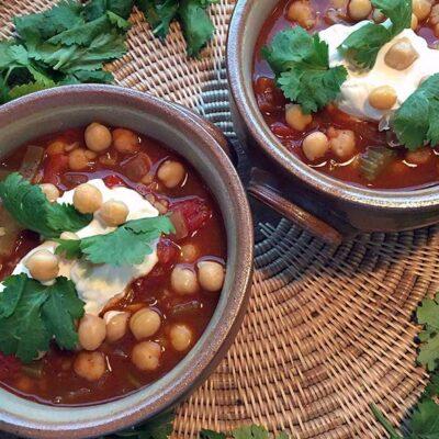Opskrift: Marokkansk kikærtesuppe - harira
