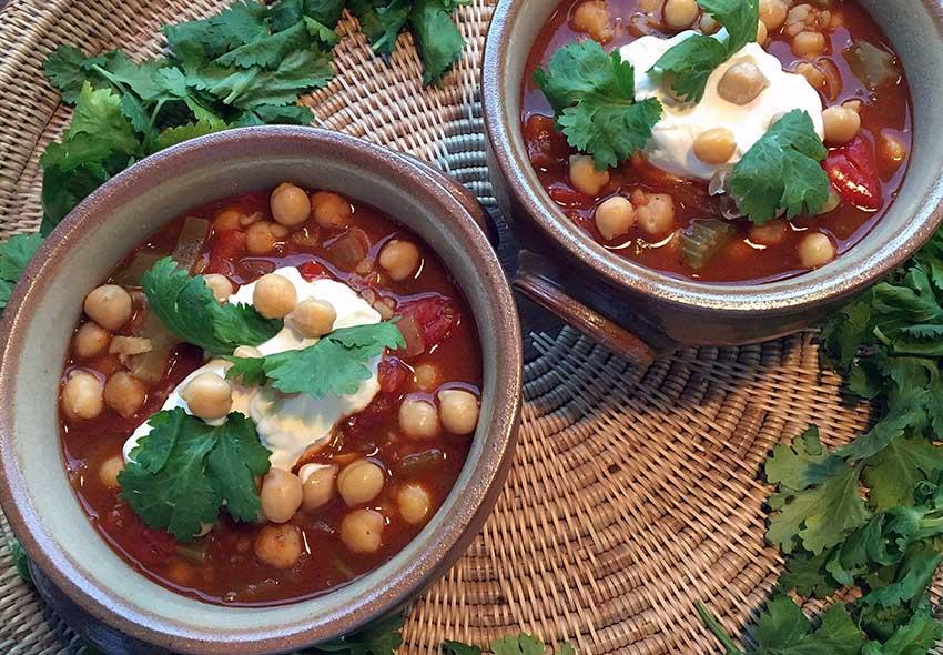 Opskrift: Marokkansk kikærtesuppe – harira