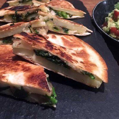Opskrift: Vegetar quesadilla