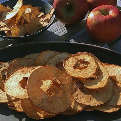 Opskrift: De bedste hjemmelavede æblechips