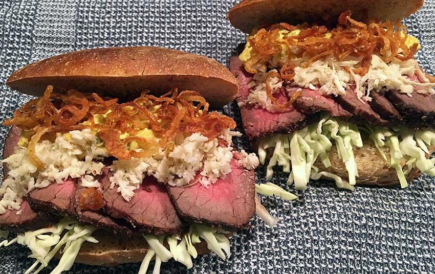 Opskrift: Danmarks bedste roastbeef-sandwich