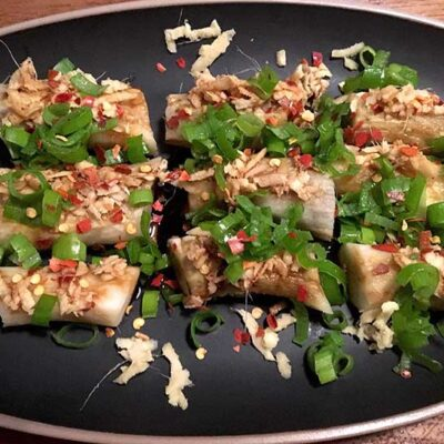 Opskrift: Grillet japansk aubergine - yaki nasu