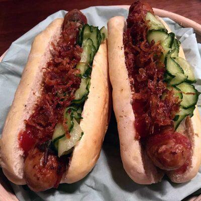 Opskrift: Hjemmelavet gourmet hotdog