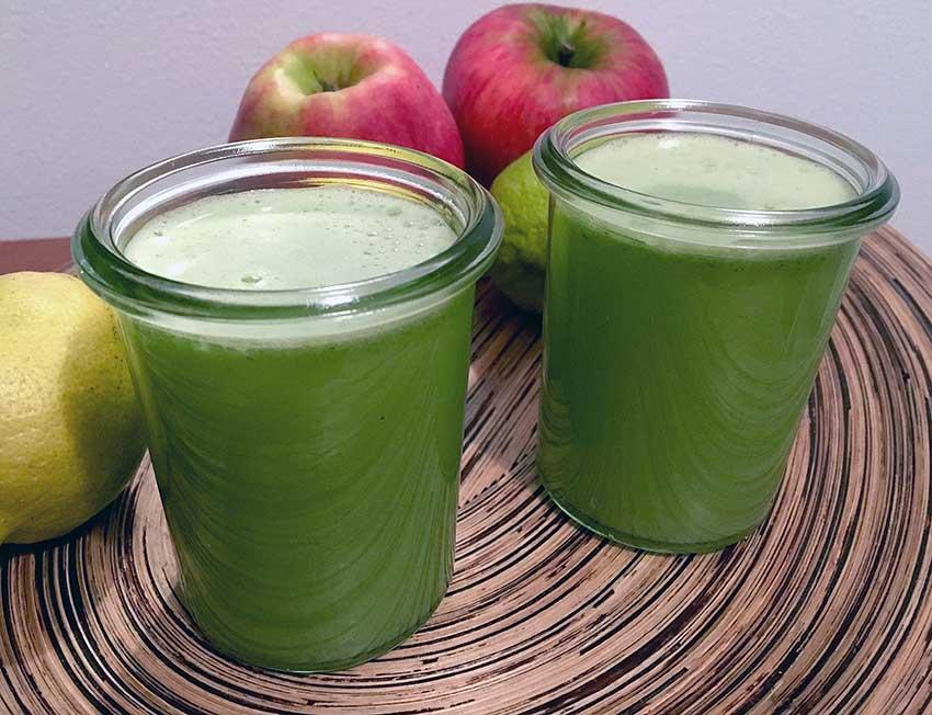 Opskrift: Hjemmelavet juice af broccoli og æble