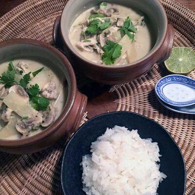 Opskrift: Thai kylling i grøn karry