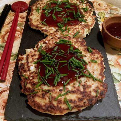 Opskrift: Japanske pandekager - okonomiyaki