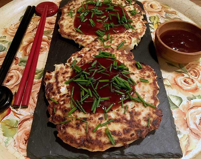 Opskrift: Japanske pandekager – okonomiyaki