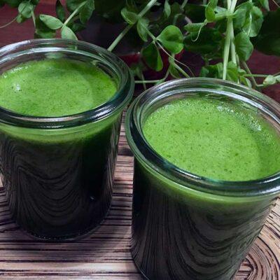 Opskrift: Hjemmelavet juice af spinat og fennikel