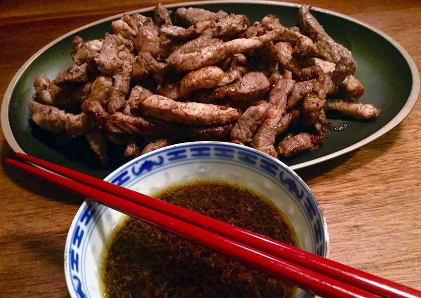 Opskrift: Kinesisk dybstegt svinekød