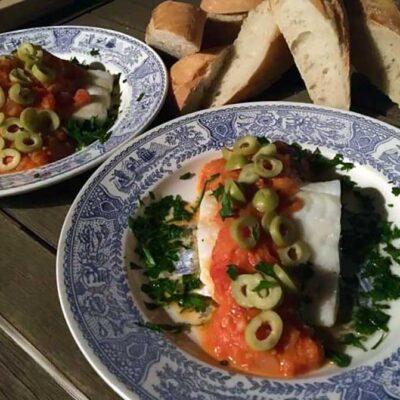 Opskrift: Bacalao español - klipfisk på spansk