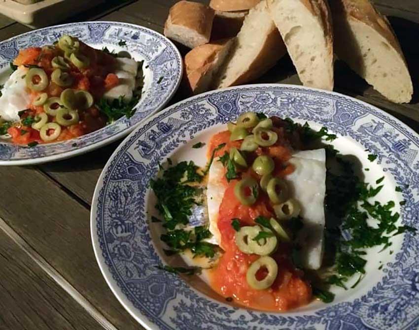 Opskrift: Bacalao español – klipfisk på spansk