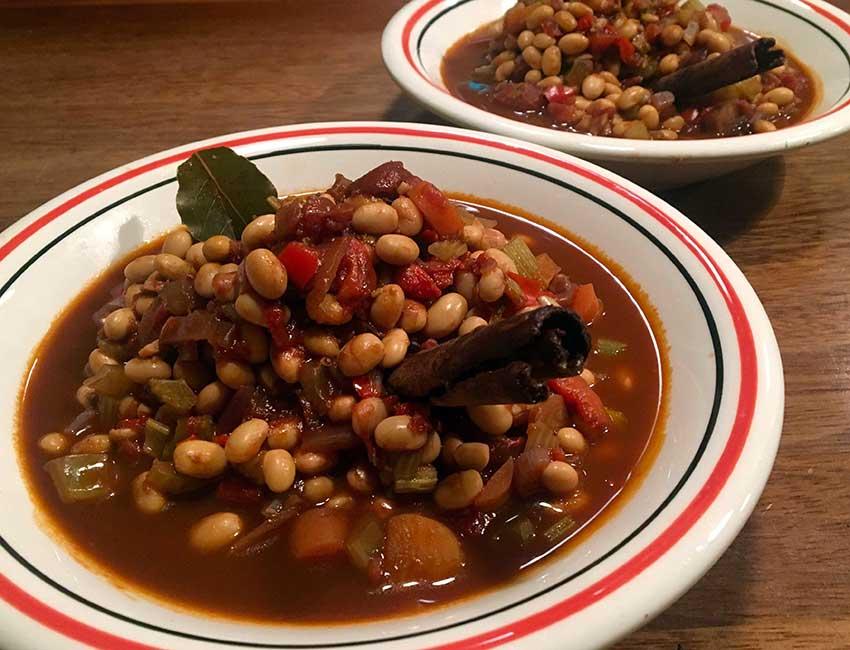 Opskrift: Chili sin carne med soyabønner