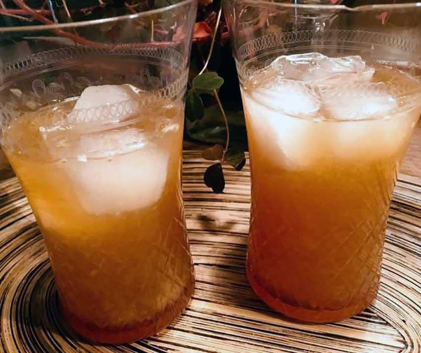 Opskrift: Hyggelig Orange Blossom cocktail