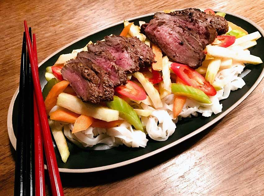 Opskrift: Kinesisk lammemørbrad med five spice