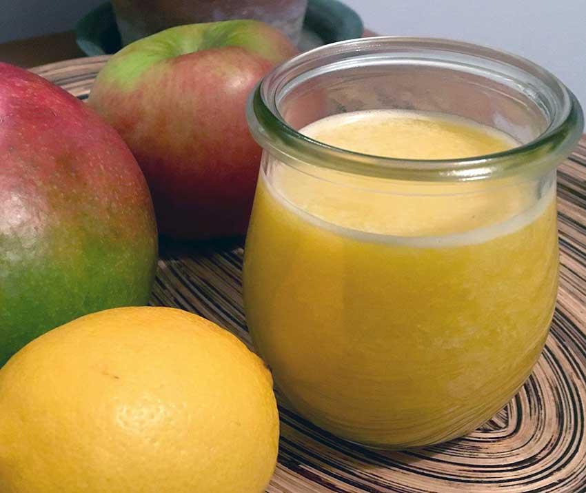 Opskrift: Hjemmelavet mangojuice