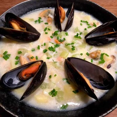 Opskrift: Let New England clam chowder