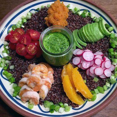 Opskrift: Supersund quinoa bowl fra Peru