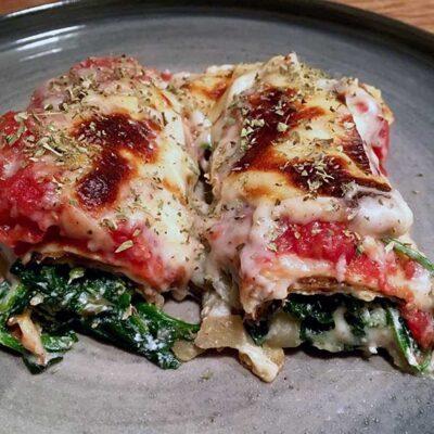Opskrift: Crespelle - italiensk lasagne af pandekager