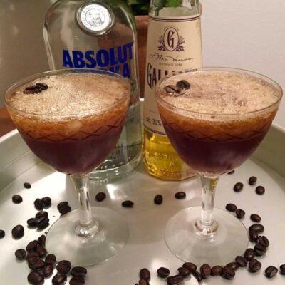 Opskrift: Espresso Martini med Galliano