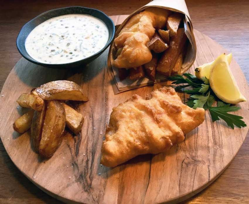 Opskrift: Fish and chips á la Jamie Oliver