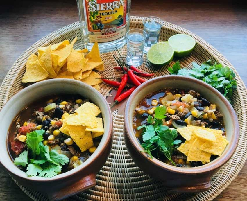 Opskrift: Mexicansk taco suppe