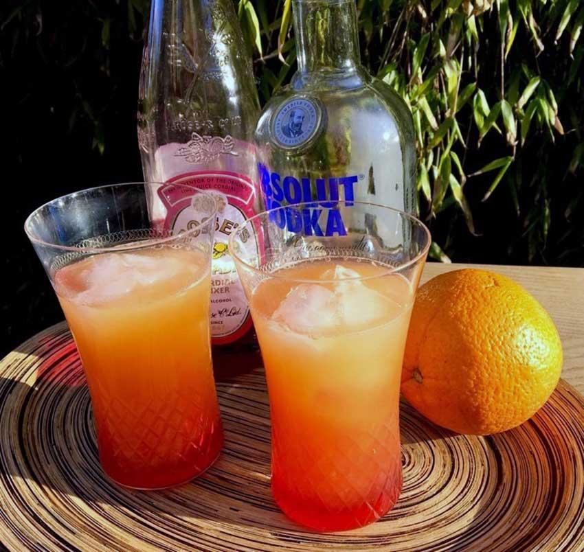 Opskrift: Vodka Sunrise