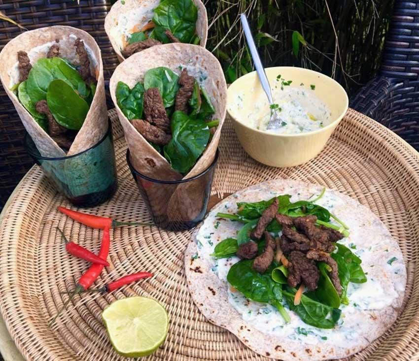 Opskrift: Nemme mexicanske tortillawraps