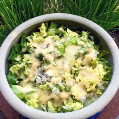 Opskrift: Klassisk fransk grøn salat
