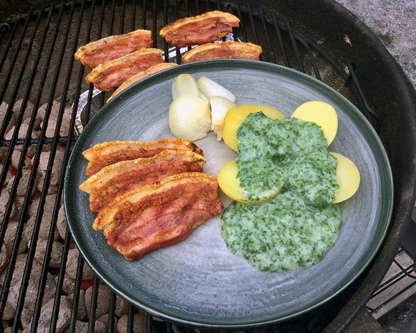 Opskrift: Perfekt stegt flæsk på grill