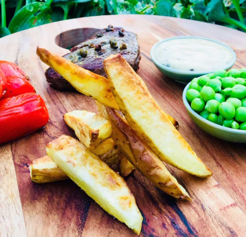 Opskrift: Nemme hjemmelavede pommes frites i ovn