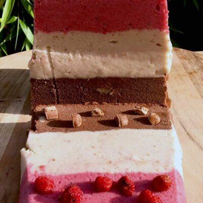 Opskrift: Nem og lækker regnbueis (nicecream)