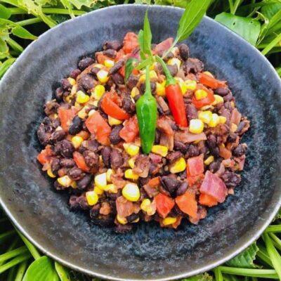 Opskrift: Mexicansk bønnegryde (vegansk)
