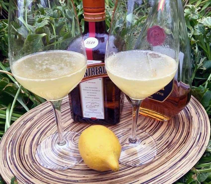 Opskrift: Den ikoniske Sidecar cocktail (3 versioner)