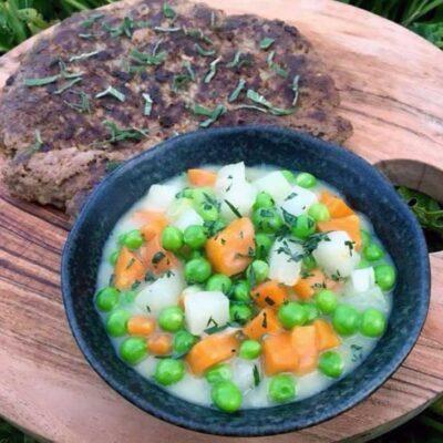 Opskrift: Stuvede grøntsager med esdragon