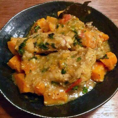 Opskrift: Caribisk kylling curry
