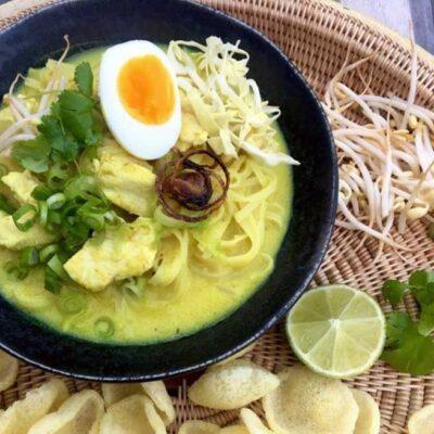 Opskrift: Indonesisk kyllingesuppe - soto ayam