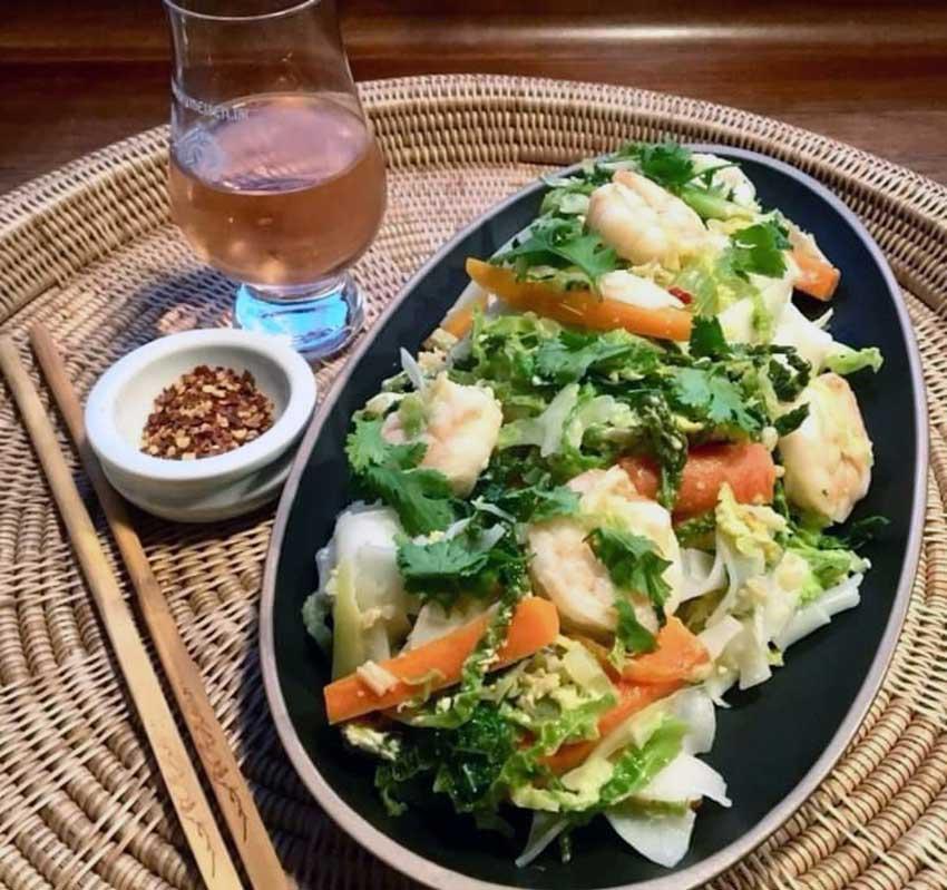 Opskrift: Lynstegt savoykål thaistyle