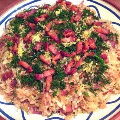 Opskrift: Perlespelt-salat med bacon
