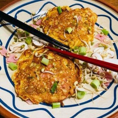 Opskrift: Kinesisk omelet - Egg Foo Yung
