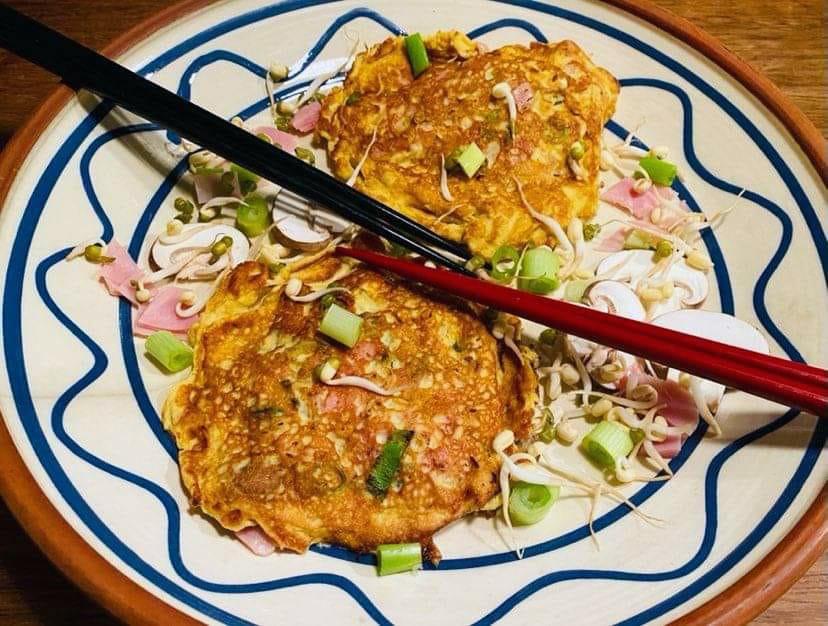 Opskrift: Kinesisk omelet – Egg Foo Yung