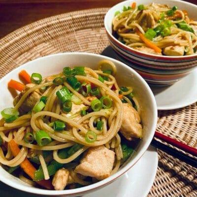 Opskrift: Kinesisk Kylling Lo Mein