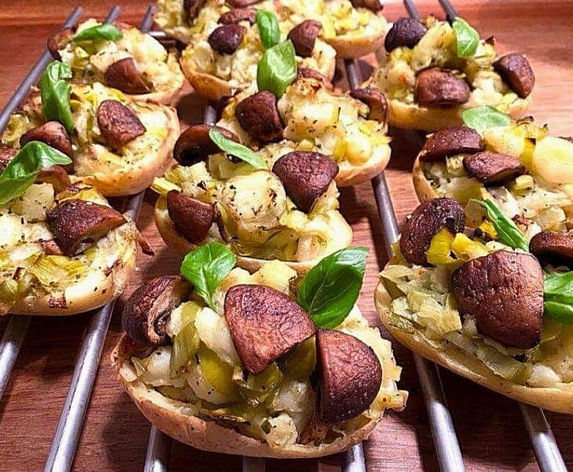 Opskrift: Ovnbagte kartofler vegetar