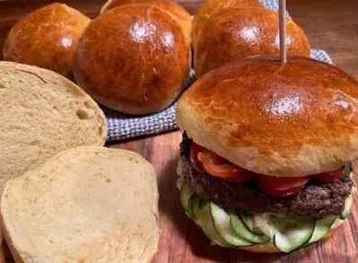 Opskrift: Perfekte brioche burgerboller