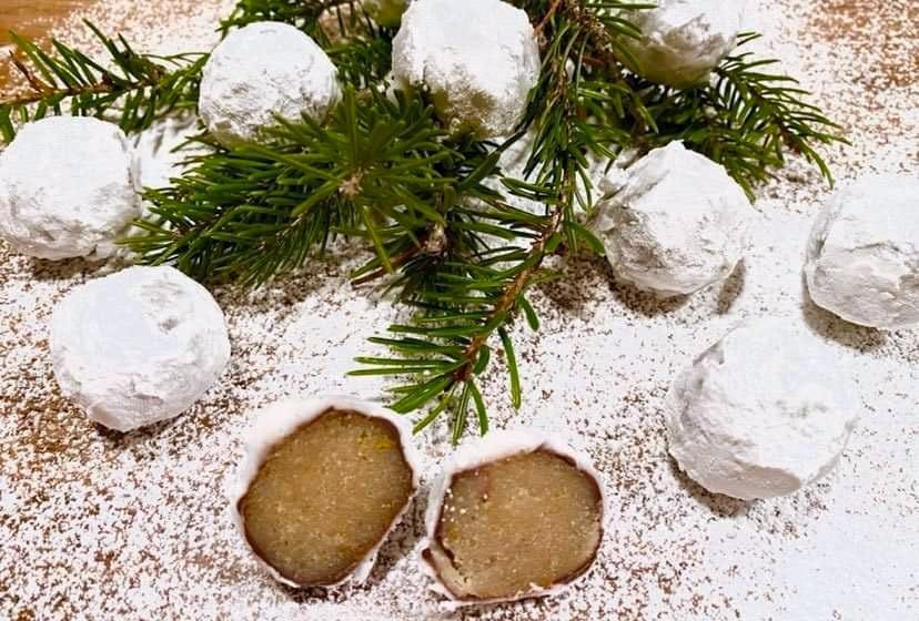 Opskrift: Julens hyggeligste snebolde (slik)