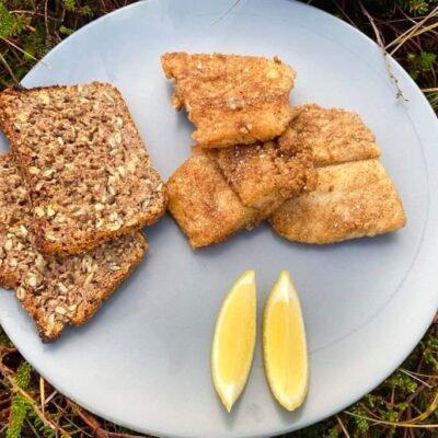 Stegt-hellefisk-til-frokost